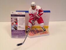 JSA Chris Chelios Signed NHL Series 7 McFarlane COA Detroit Red Wings Canadiens