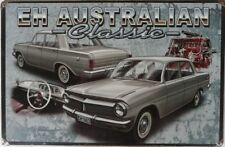 EH HOLDEN  AUSTRALIAN CLASSIC ENJOY THE RIDE 1963 Metal tin Sign