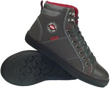 Lee Cooper Safety Steel Toe Cap Grey Baseball Style Work Boots. Shoes Sneakers