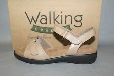 NEW Women's Walking Cradle Sky 2 Beige Leather Comfortable Sandals