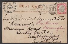 South Africa - Transvaal 1903 postcard, Sir George White, Boer War Commemoration