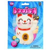 """Toy Network Lucky Cat Squishy Soft & Slow Rising Squishy Toy-4"""" #CA-SQLUC"""