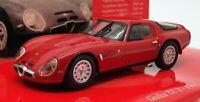 Minichamps 1/43 Scale 403 651203 - 1965 Alfa Romeo Giulia TZ 2 - Red