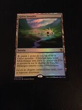 MTG MAGIC KHANS OF TARKIR FLOODED STRAND (FRENCH GREVE INONDEE) NM FOIL