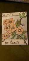 Vintage 1949 Easter Greeting Card Unused Bradlee Co blank inside