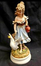 New ListingVintage Andrea by Sadek, Girl with Goose Figurine, #7893, excellent condition