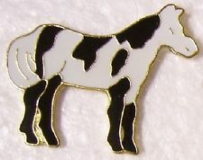 Hat Lapel Pin Scarf Clasp Animal Horse Paint NEW