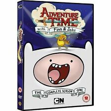Adventure Time - Series 1 - Complete (DVD, 2013, 3-Disc Set)