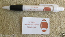 Personalised THANK YOU RUGBY Coach Manager Named Pen Gift