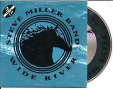 STEVE MILLER BAND - wide river CD SINGLE 2TR CARDSLEEVE 1993 RARE!
