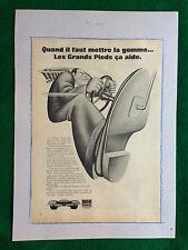 (AM7) Pubblicità Advertising Werbung Clipping - UNIROYAL GOMME AUTO CAR