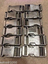 """ITW, PEE WEE, ACW, Assorted USED 1"""" Black Buckles """"12 Pack"""""""