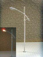 S141 - Set 10 Stück moderne Straßenlampen 1-flammig 8,5cm Peitschenleuchten