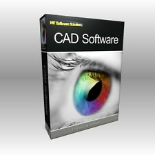 CAD Design Architecture Collection PC MAC Software 4 Programs