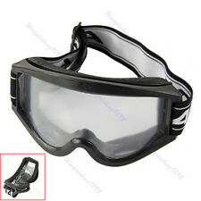 Adult Youth Motocross Motorcycle Raider Dirt Bike ATV Goggle Goggles Black