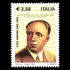 Italy 2003 - 100th Anniversary of the Birth of Ezio Vanoni - Sc 2557 MNH