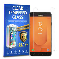 Tempered Glass Screen Protector For Samsung Galaxy J7 Crown Star Eon 2018