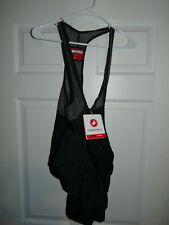 Castelli Men's Cycling Free Aero Race 4 Bib Shorts Black Large NEW