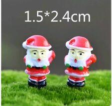 Mini Succulent Fairy Garden Figurines Miniature 5X Christmas Santa Claus