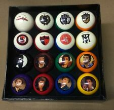 Scarface Pool Balls Set Billiards Ball Complete Sets w/ FREE Shipping