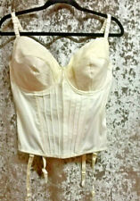 Naturally Close Multi Way Ivory Satin Bridal Basque Sz 38F BNWT