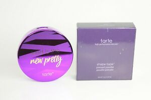 Tarte Shape Tape Powder Foundation Makeup, 37H Medium-Tan Honey