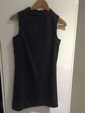Stradivarius dark grey dress - 6/8 BNWOT