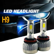 Pair H9 H11 H8 600W 60000LM Car LED Headlight Bulbs Fog Light kit 6500K White