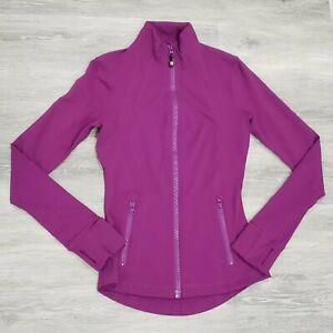 Lululemon Define Jacket Regal Plum Purple Long Sleeve Full Zip Top Size 4