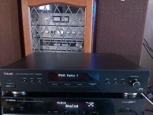 TEAC DAB AM FM Stereo Tuner T-R650DAB - Black Digital Radio with original box