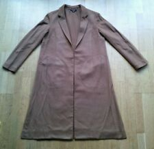 Ladies OUTERWEAR Coat Brown Unbranded UK Size 10 VGC