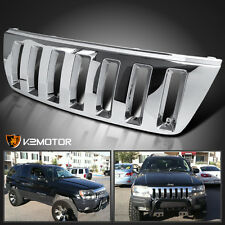 1999-2004 Jeep Grand Cherokee H2 Style Chrome Front Hood Grill Grille