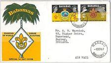 BOY SCOUTS --- BAHAMAS  -  POSTAL HISTORY - FDC COVER 1967