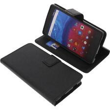 Tasche für Archos Core 50 Smartphone Book-Style Schutz Hülle Handytasche Buch