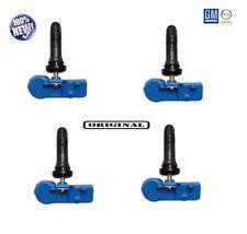 ORIGINALE 4x sensore di pressione pneumatici rdks TPMS OPEL CORSA D ADAM GM 13581562 1010042