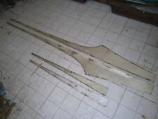 1958 FORD SKYLINER RETRACTABLE FAIRLANE GOLD BODY SIDE TRIM MOLDING PROJECT OEM