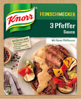 Knorr Gourmet 3 Pepper Sauce 40 G Bag