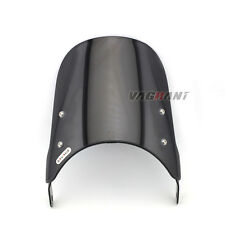"""Universal Pare-brise Windshield Suit 7"""" Round Headlight For Honda Suzuki Yamaha"""