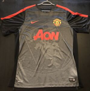 Men's Nike Manchester United AON Soccer Jersey Practice Sz XL
