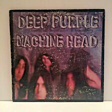 Deep Purple Machine Head LP Album 1972 Warner Bros. BS 2607 w/Poster VG