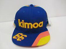 NEW 2019 FERNANDO ALONSO KIMOA MCLAREN INDIANAPOLIS 500 HAT CAP INDY CAR RV$35