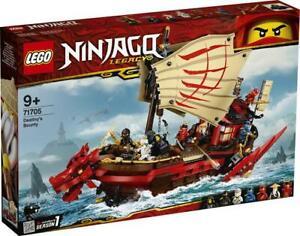 Boxed New Lego Ninjago - Set 71705 Destinys Bounty X-Mas  Christmas Gift Present
