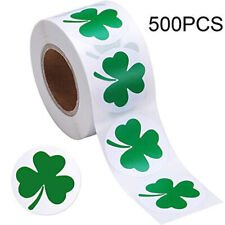 500Pcs Clover Stickers Adhesive Label For Kids Decoration And Stationery .lo