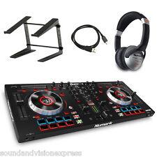 Numark Mixtrack Platinum 2-ch Mixer MP3 Controller + Serato + Stand + Headphones