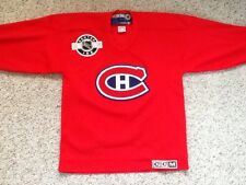 MONTREAL CANADIENS CCM HOCKEY JERSEY YOUTH BOYS LARGE XLARGE