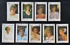 Afganistan Stamps 1998 Diana, Princess of Wales Complete set , used, cto
