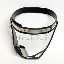 Male Chastity Belt with Detachable Penis Tube A2