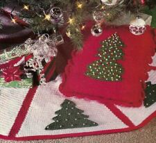 Christmas Tree Apron Cavendish Crochet PATTERN//INSTRUCTIONS Leaflet NEW
