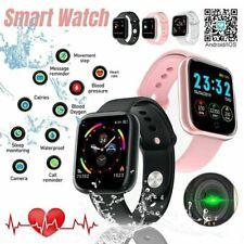 Para hombres mujeres niños iOS Android Bluetooth reloj inteligente IP67 de negocios de moda