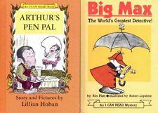 2 Books – ARTHUR'S PEN PAL (Hoban 1976) & BIG MAX - DETECTIVE (Platt 1965) Hcvrs